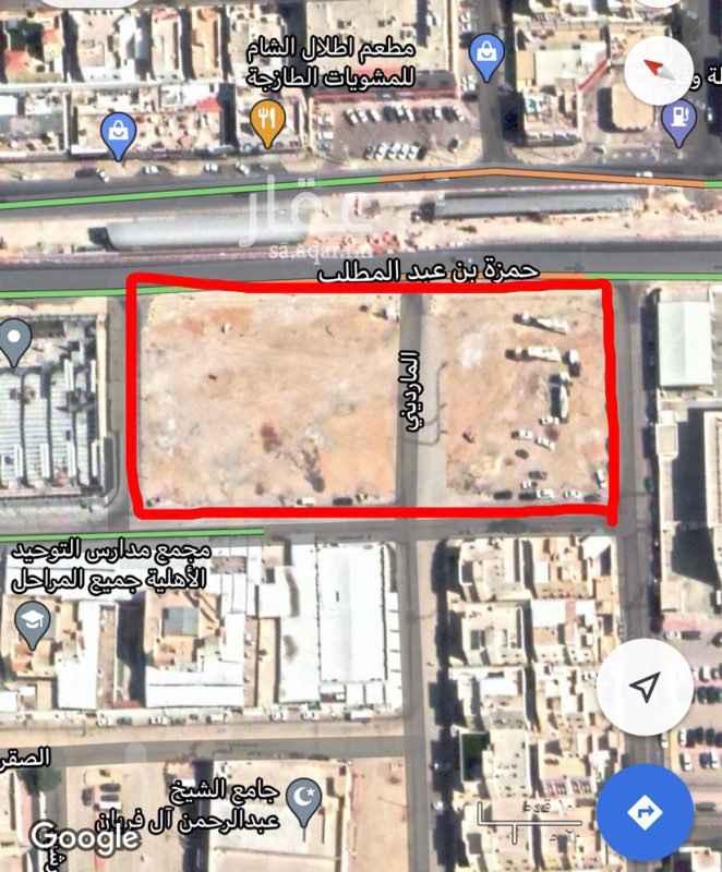 أرض للبيع في شارع حمزة بن عبد المطلب ، حي السويدي الغربي ، الرياض ، الرياض