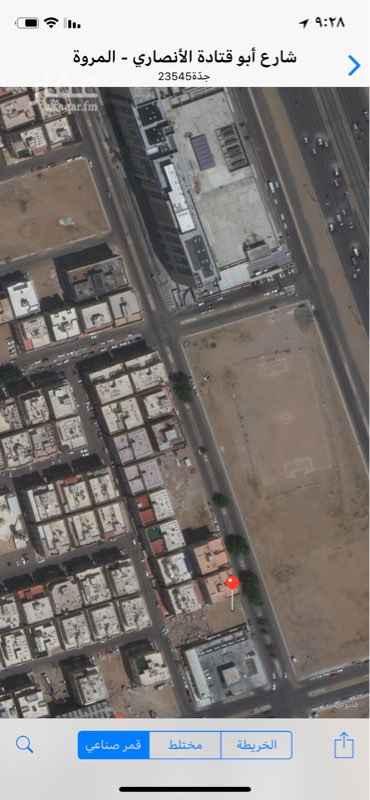 أرض للإيجار في شارع عبدالله بن السائب ، حي المروة ، جدة