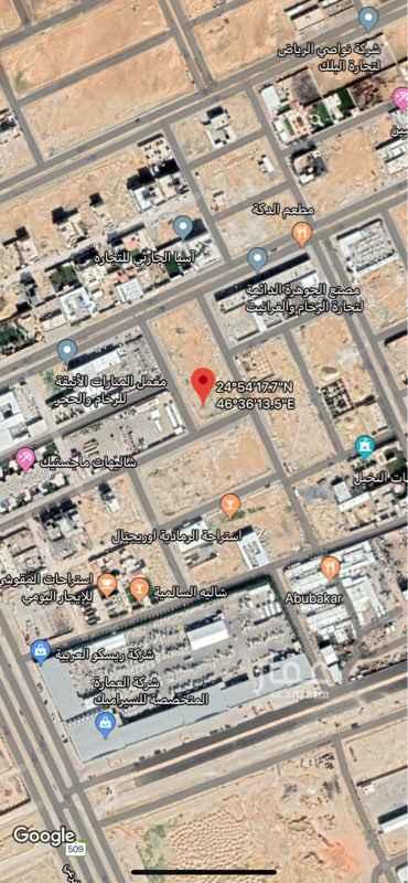 أرض للبيع في طريق الملك عبدالعزيز الفرعي ، الرياض