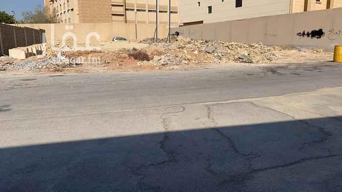 أرض للبيع في شارع عبدالمنعم بن أبي المعمر ، حي الربوة ، الرياض ، الرياض