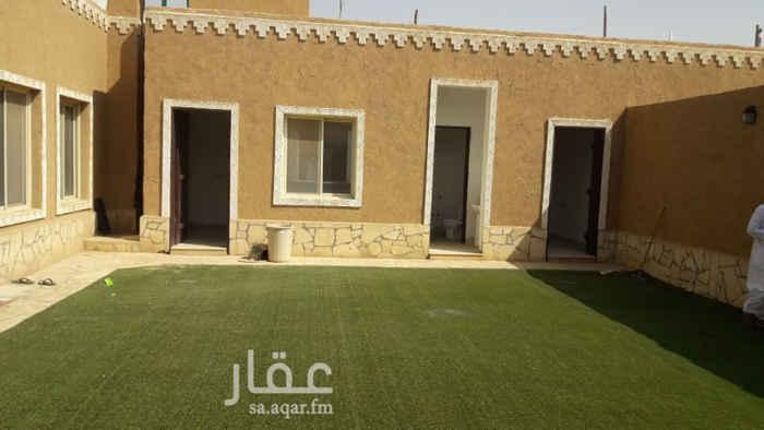 استراحة للإيجار في طريق ابي بكر الصديق ، الرياض
