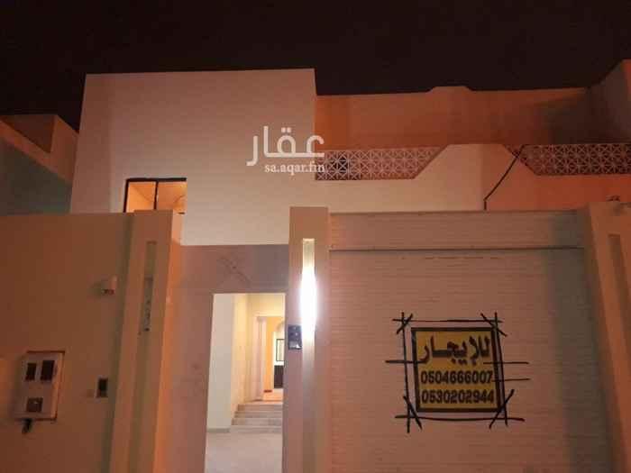 فيلا للإيجار في شارع تميم بن مر ، حي المرسلات ، الرياض