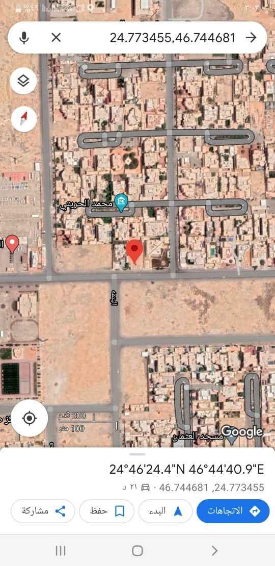 أرض للبيع في شارع البشائر ، حي الحمراء ، الرياض ، الرياض