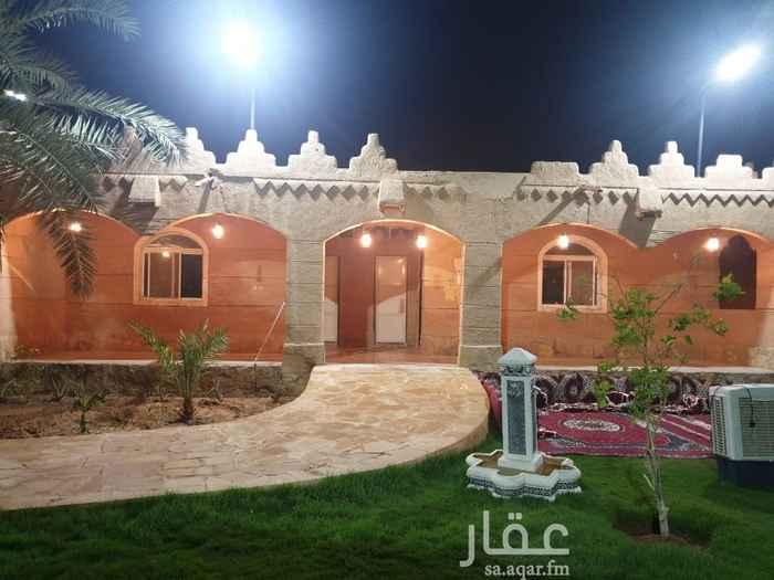 استراحة للبيع في شارع دحيه بن خليفه ، حي الرمال ، الرياض ، الرياض