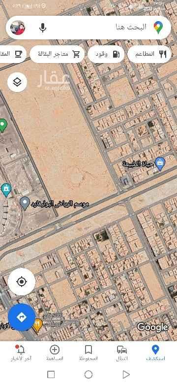 أرض للبيع في شارع عبدالعزيز القروي ، حي حطين ، الرياض ، الرياض
