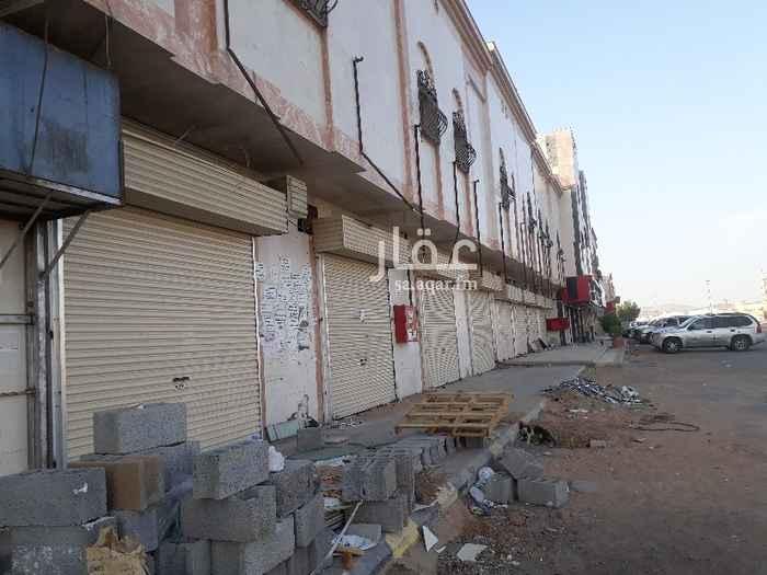 محل للإيجار في شارع سلمان بن ثمامه الجعفي ، حي السكة الحديد ، المدينة المنورة