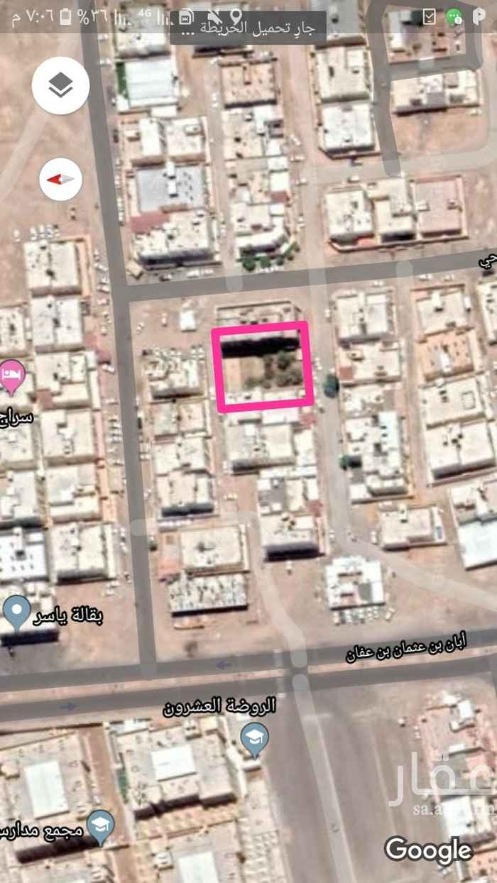 أرض للبيع في شارع محمد بن يعقوب بن ابراهيم الاسدي ، حي السكة الحديد ، المدينة المنورة ، المدينة المنورة