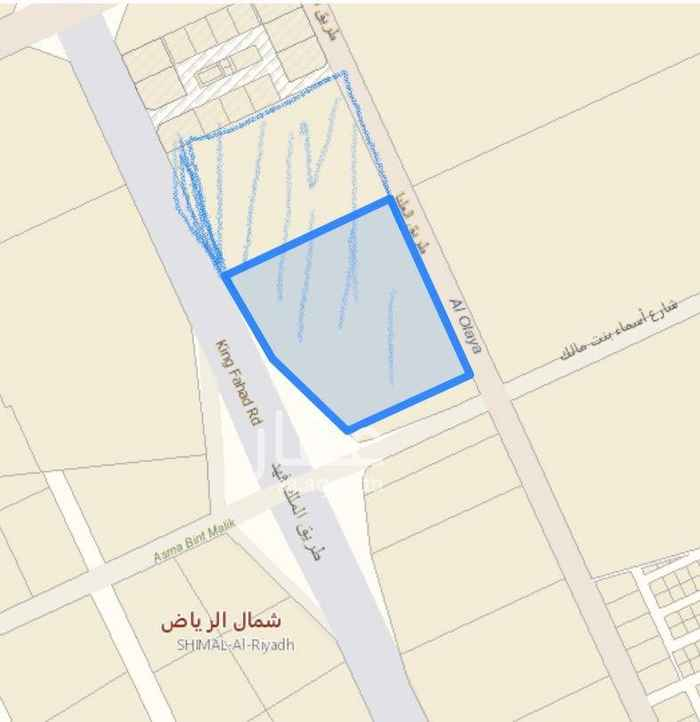 أرض للبيع في شارع القوات الخاصة ، الرياض