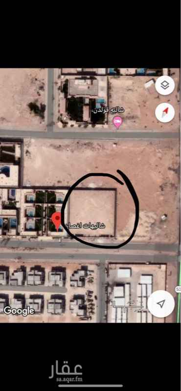 أرض للإيجار في طريق خزام ، الرياض