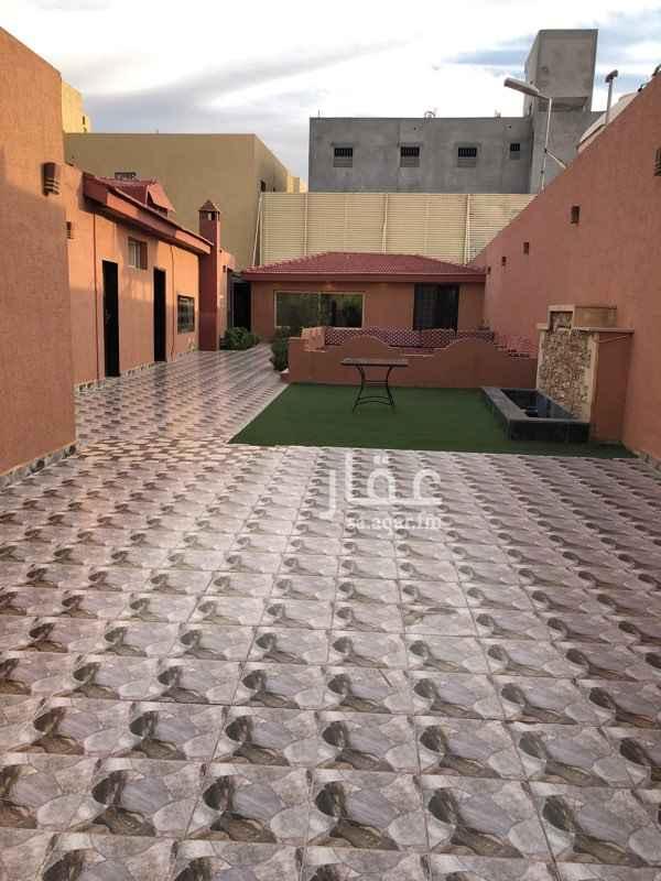 استراحة للإيجار في شارع العيينة ، حي ظهرة لبن ، الرياض