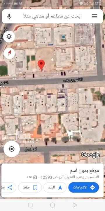 أرض للبيع في شارع الدليمة ، حي النخيل ، الرياض