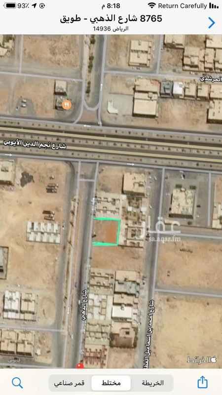 أرض للإيجار في شارع الذهبي ، حي طويق ، الرياض ، الرياض