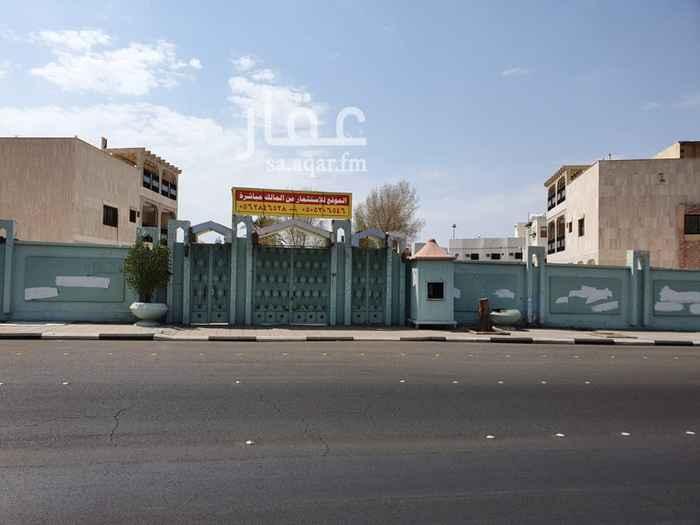أرض للإيجار في شارع عبدالحميد بن ابي اويس ، حي مهزور ، المدينة المنورة