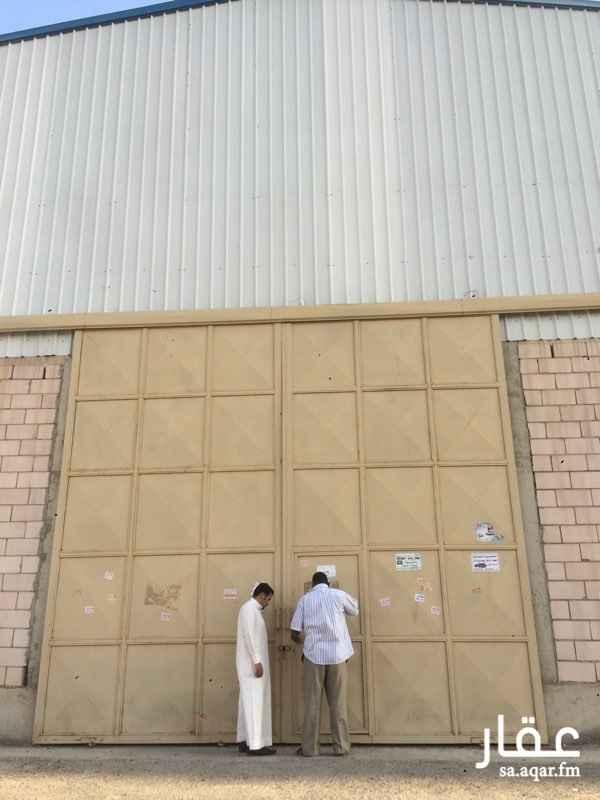 مستودع للإيجار في المشاعل, الرياض