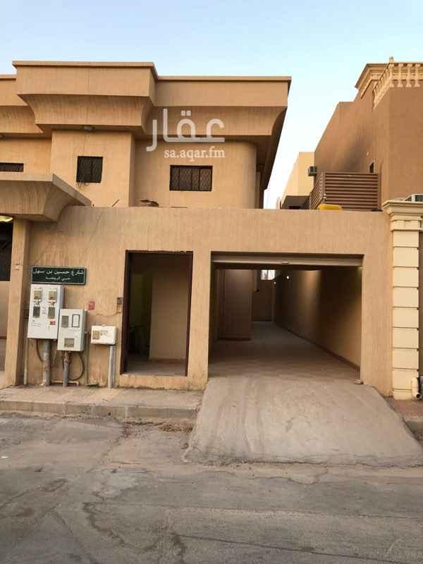 شقة للإيجار في شارع حسين بن سهل ، حي الروضة ، الرياض