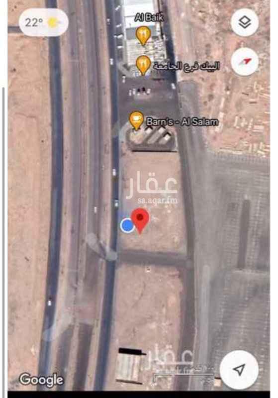 أرض للإيجار في طريق السلام ، حي طيبة ، المدينة المنورة ، المدينة المنورة