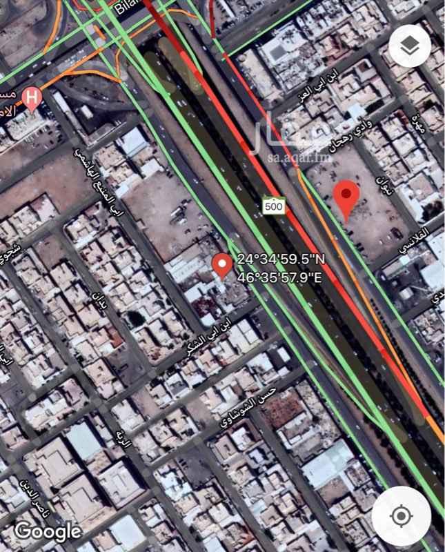 أرض للبيع في طريق جدة الفرعي ، حي طويق ، الرياض