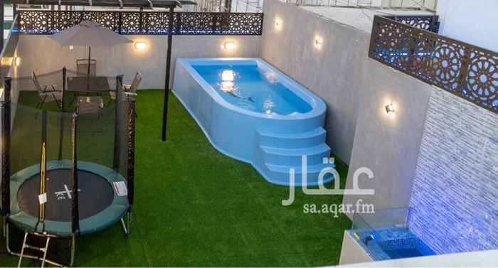 استراحة للإيجار في شارع محمد عمر توفيق ، حي الروضة ، جدة ، جدة