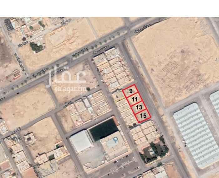أرض للبيع في شارع ماجد بن مرعيد ، حي العزيزية ، الرياض