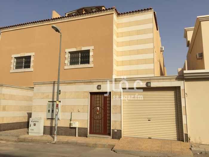دور للإيجار في شارع عبدالرحمن الحجي ، حي ظهرة البديعة ، الرياض ، الرياض