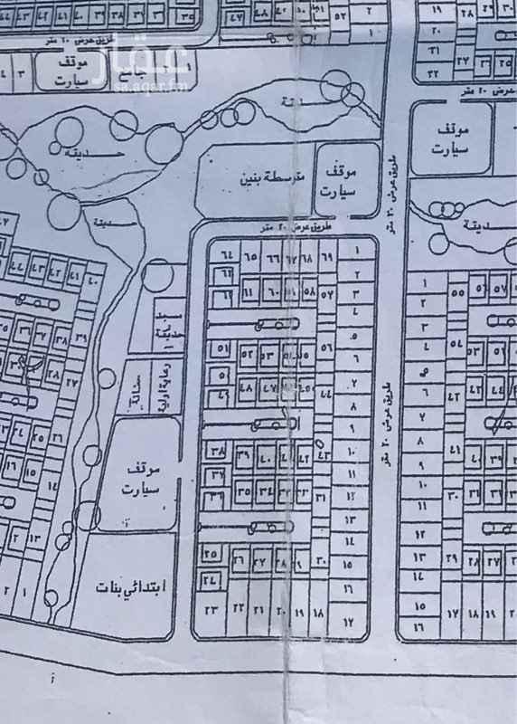 أرض للبيع في شارع الأمير ثامر بن عبد العزيز ، حي السويس ، جازان ، جزان