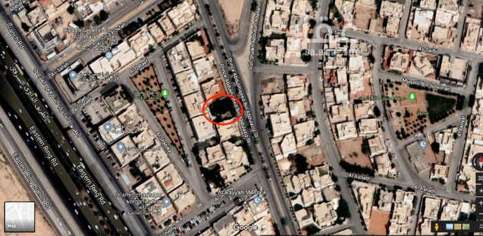 أرض للبيع في شارع الأمير عبدالمجيد بن عبدالعزيز ، حي الريان ، الرياض
