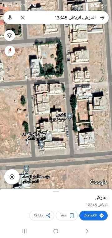 أرض للبيع في حي ، شارع ابي صالح المكي ، حي العارض ، الرياض ، الرياض