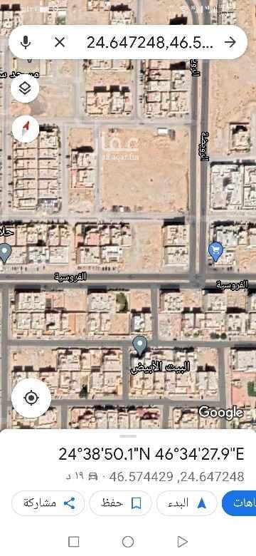 أرض للبيع في شارع الفريق ، حي ظهرة لبن ، الرياض ، الرياض