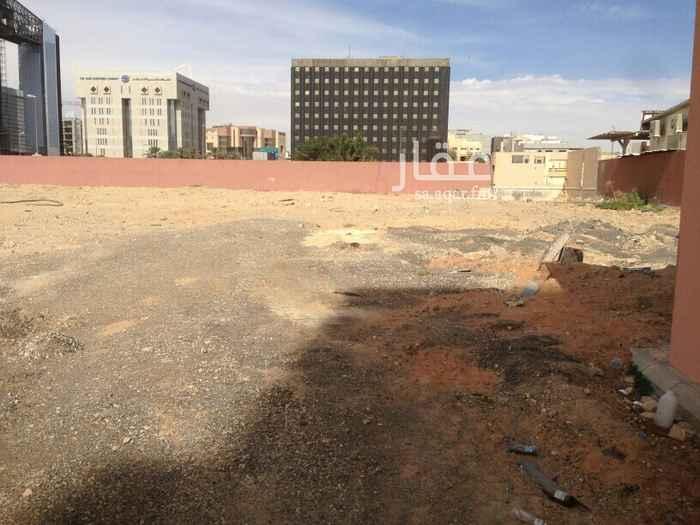 أرض للإيجار في طريق الملك عبدالعزيز الفرعي ، حي الضباط ، الرياض ، الرياض