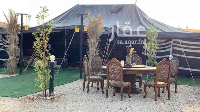 مخيم للإيجار في حي ، شارع البساله ، حي الملك عبدالله ، الرياض ، الرياض