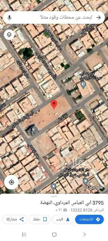 أرض للبيع في شارع ابي العباس المرداوي ، حي النهضة ، الرياض ، الرياض