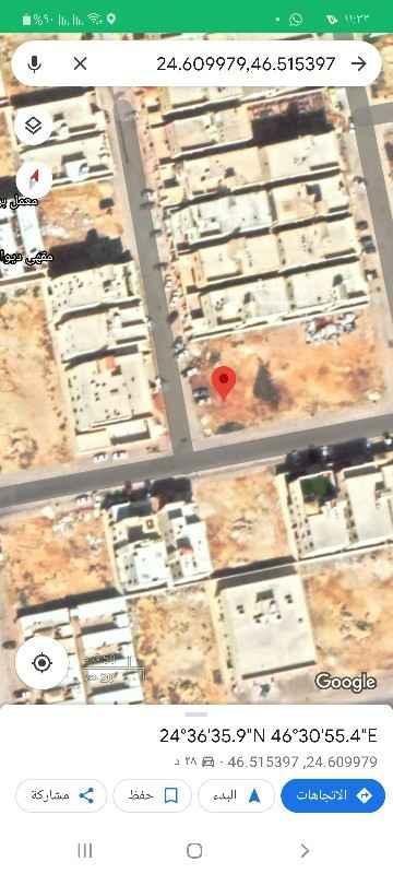 أرض للبيع في شارع رقم 166 ، حي ظهرة لبن ، الرياض