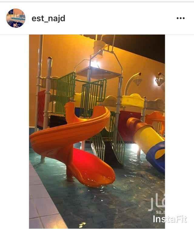 استراحة للإيجار في طريق نجم الدين الأيوبي الفرعي ، حي العوالي ، الرياض ، الرياض