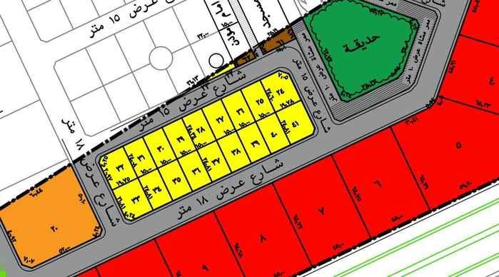 أرض للبيع في شارع جبل الترك ، حي العارض ، الرياض