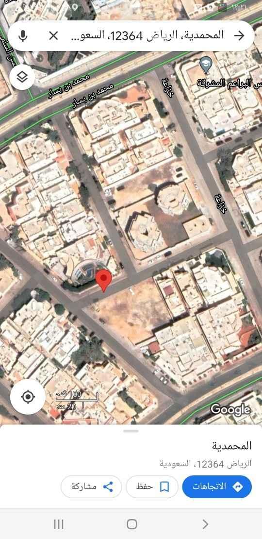 أرض للبيع في شارع رغدان ، حي المحمدية ، الرياض ، الرياض