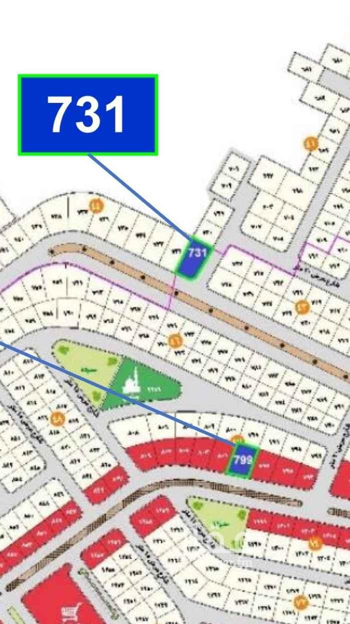 أرض للبيع في شارع آمنه بنت وهب ، حي الحمراء وأم الجود ، مكة ، مكة المكرمة