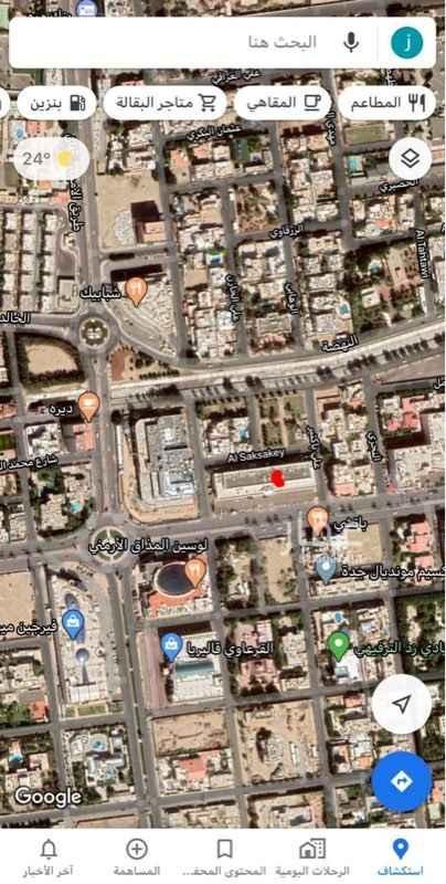 محل للبيع في شارع الامير محمد بن عبدالعزيز ، حي الروضة ، جدة ، جدة