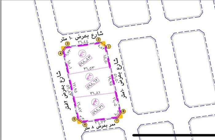 أرض للبيع في حي ج6 ، الطائف ، الطائف