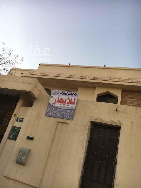 دور للإيجار في شارع السمعاني ، حي الزهرة ، الرياض ، الرياض
