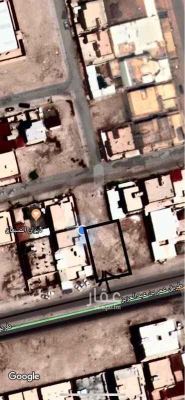 أرض للبيع في طريق عمر بن عبدالعزيز ، حي الربوة ، حفر الباطن
