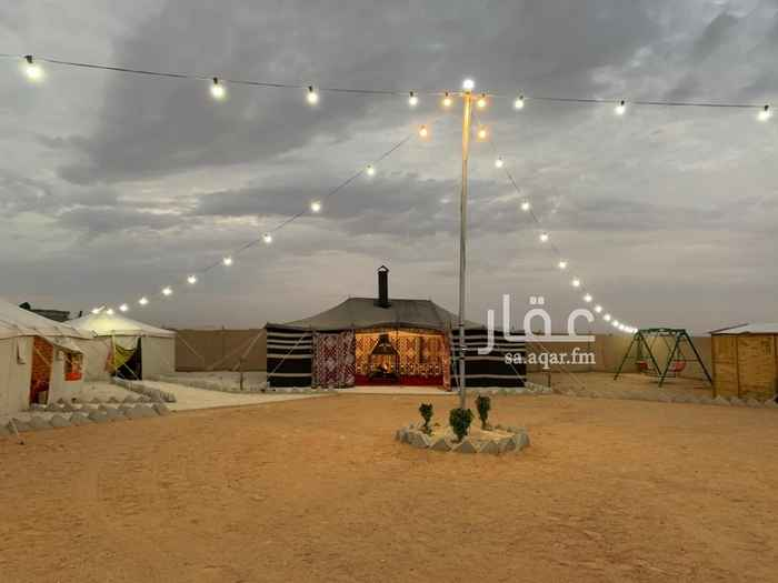 مخيم للإيجار في حي الخير ، الرياض ، الدرعية