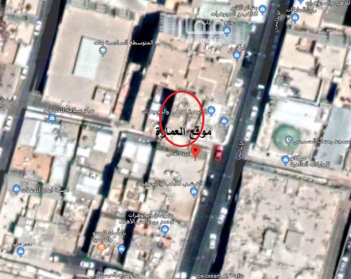 عمارة للإيجار في شارع الاندلس ، حي الأندلس ، مكة