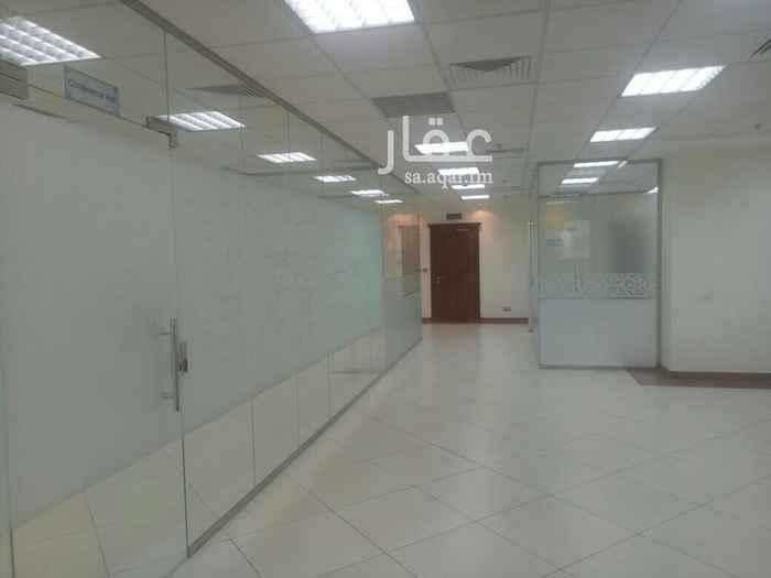 مكتب تجاري للإيجار في شارع الامير سلطان ، حي الزهراء ، جدة
