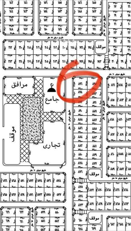 أرض للبيع في شارع شرحبيل بن حسنة ، حي الشاطيء ، جازان ، جزان
