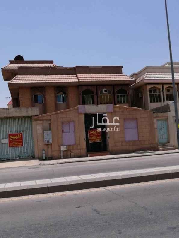 فيلا للإيجار في شارع زيد بن علي الجريسي ، حي الشفا ، الرياض