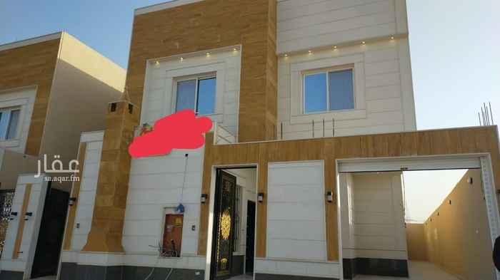 فيلا للبيع في شارع سماك بن اوس ، حي الحزم ، الرياض