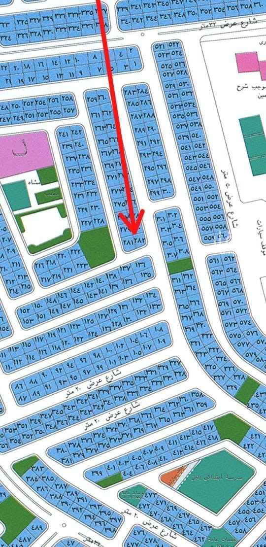 أرض للبيع في جدة ، حي الزمرد ، جدة