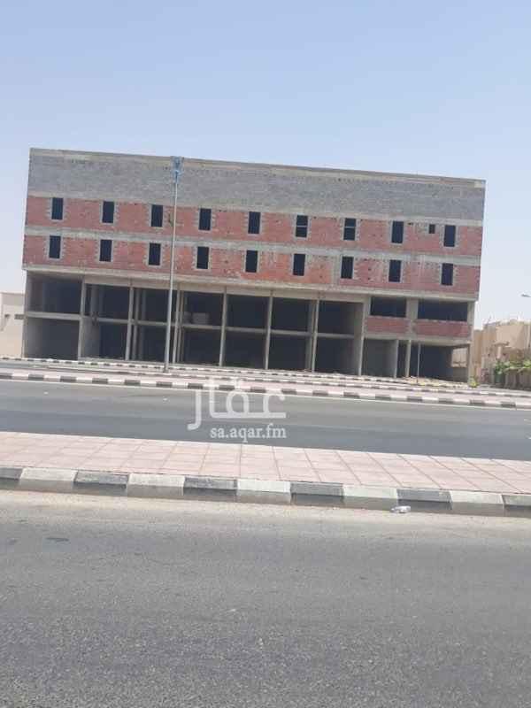 عمارة للإيجار في شارع عمر بن عبدالعزيز ، حي النزهة ، الخرج