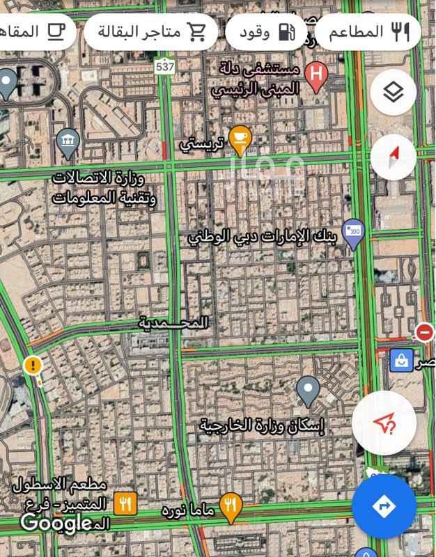 أرض للبيع في شارع البادر ، حي المحمدية ، الرياض ، الرياض