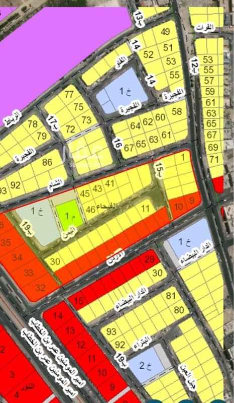 أرض للبيع في شارع الاردن ، حي الفيحاء ، الدمام